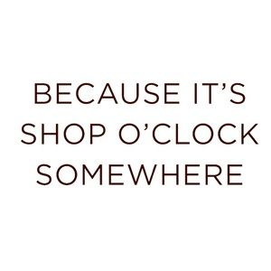 Other - Inspirational shopping quote 🛍😊🛍😊